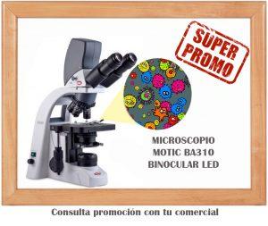 Promoción en Microscopio Motic BA310